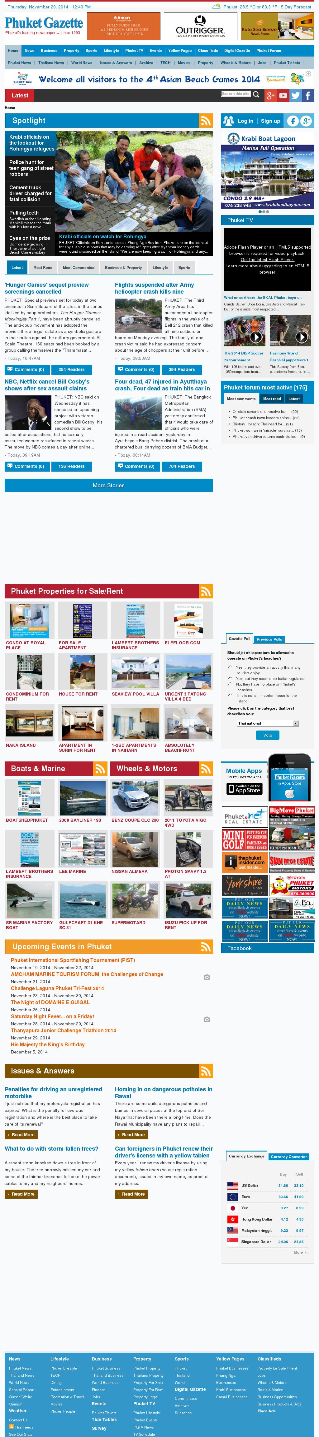 Phuketgazette Competitors, Revenue and Employees - Owler