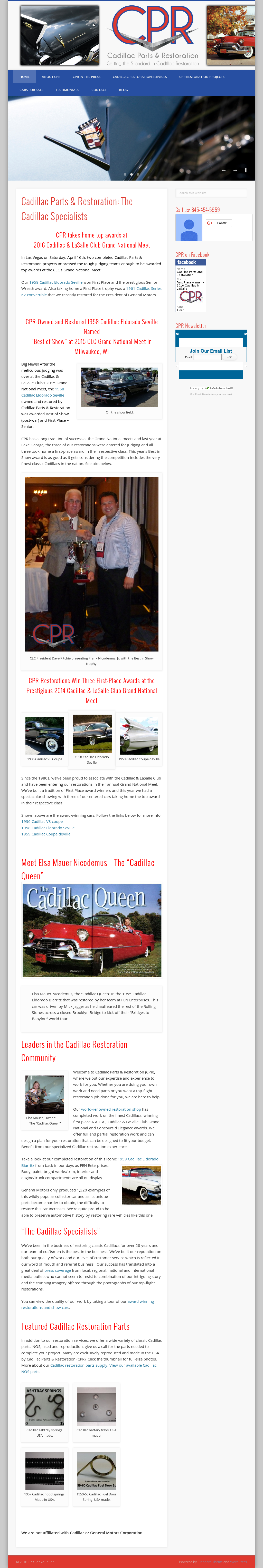Owler Reports - Nothstar Care Point Group Blog Hard to Find Cadillac
