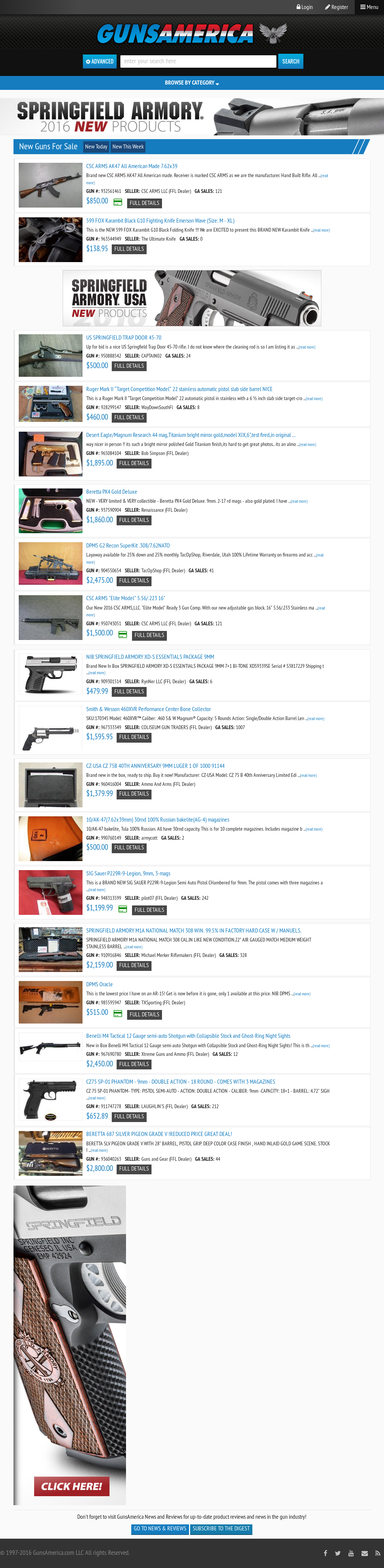 GunsAmerica Competitors, Revenue and Employees - Owler