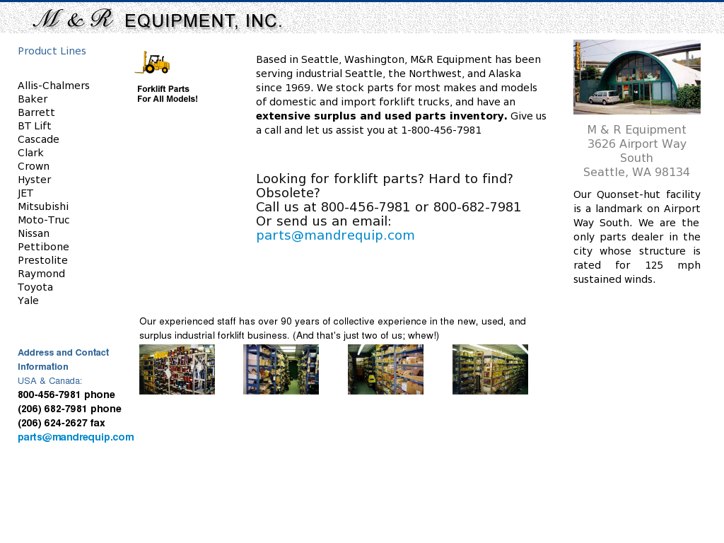 M And R Equipment Competitors, Revenue and Employees - Owler