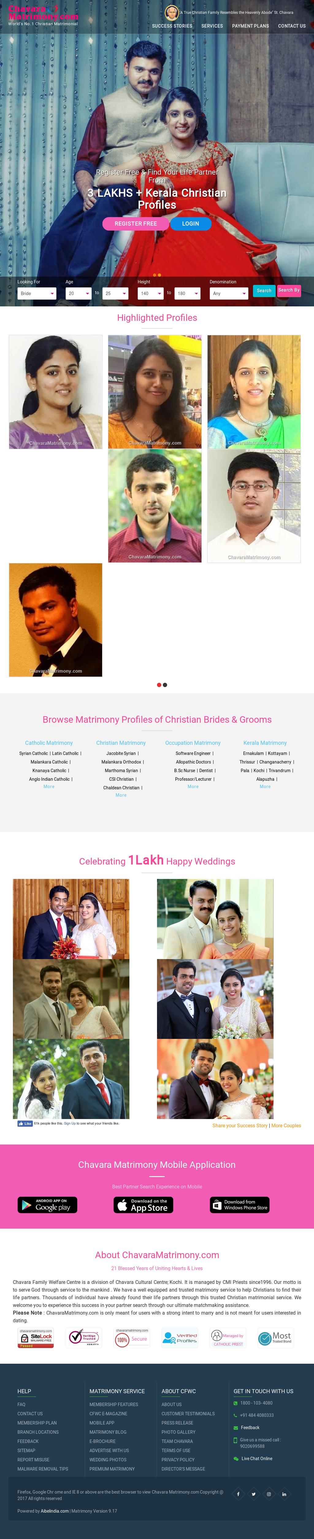 Chavara matrimony login kanjirappally