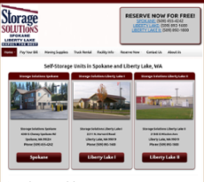 Storage Solutions At Liberty Website History