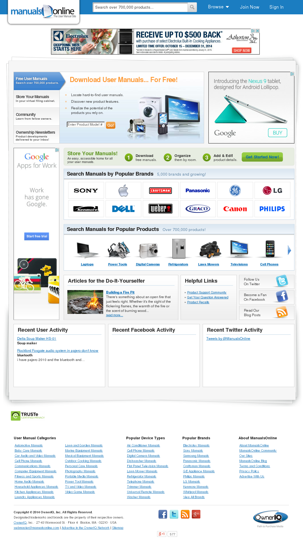 Manuals Online Compeors Revenue And Employees Owler Company Profile