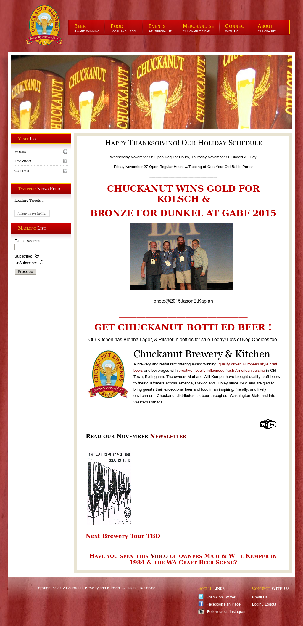 Chuckanut Brewery & Kitchen Competitors, Revenue and Employees ...