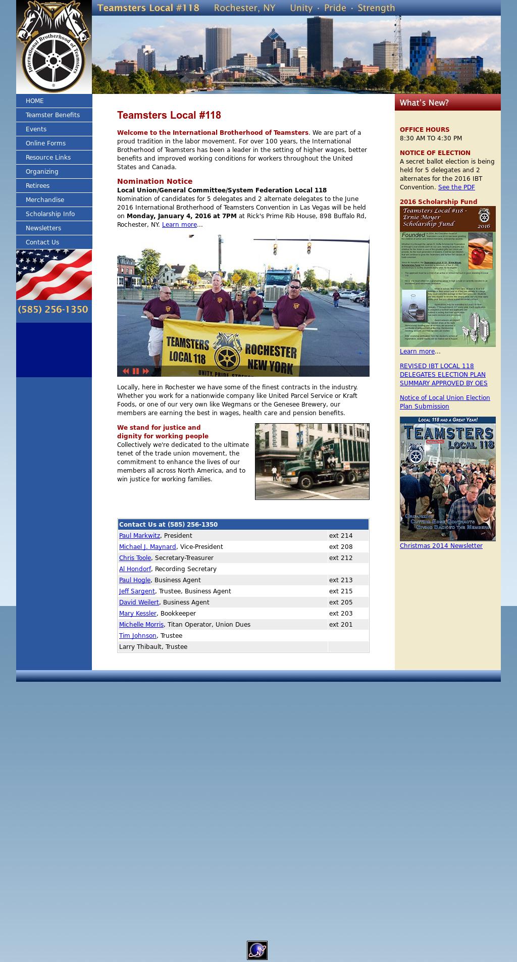 International Brotherhood Of Teamsters-local 118 Competitors