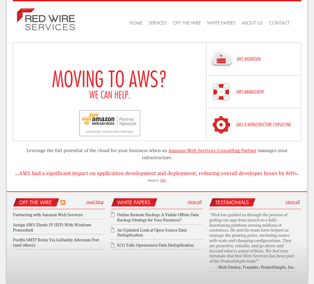Red Wire Services Competitors, Revenue and Employees - Owler Company ...