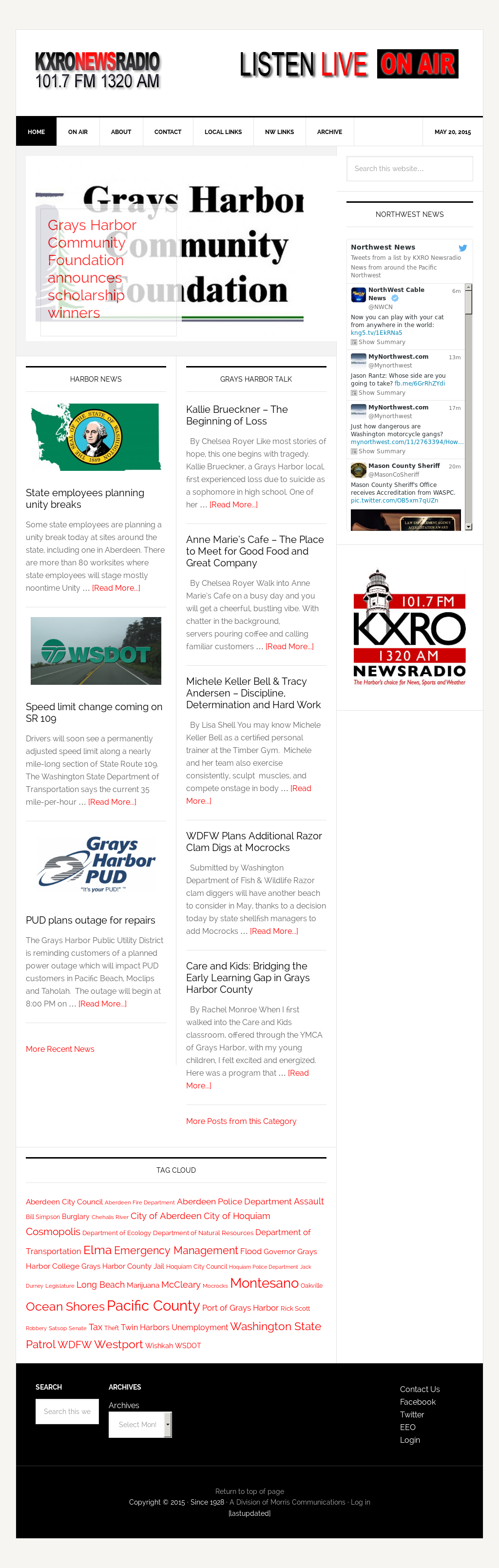 Grays Harbor Radio Competitors, Revenue and Employees - Owler