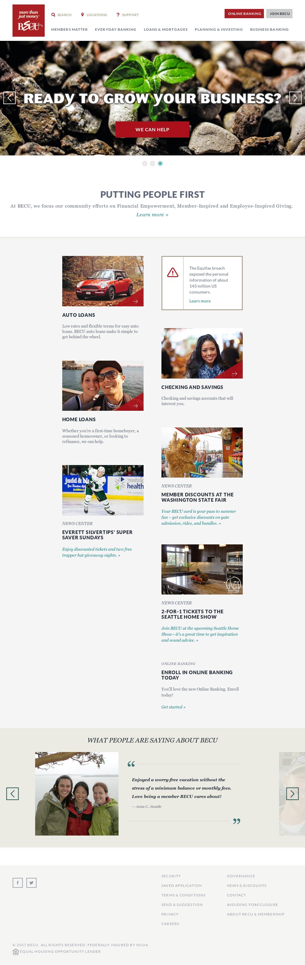 becu competitors revenue and employees owler company profile rh owler com