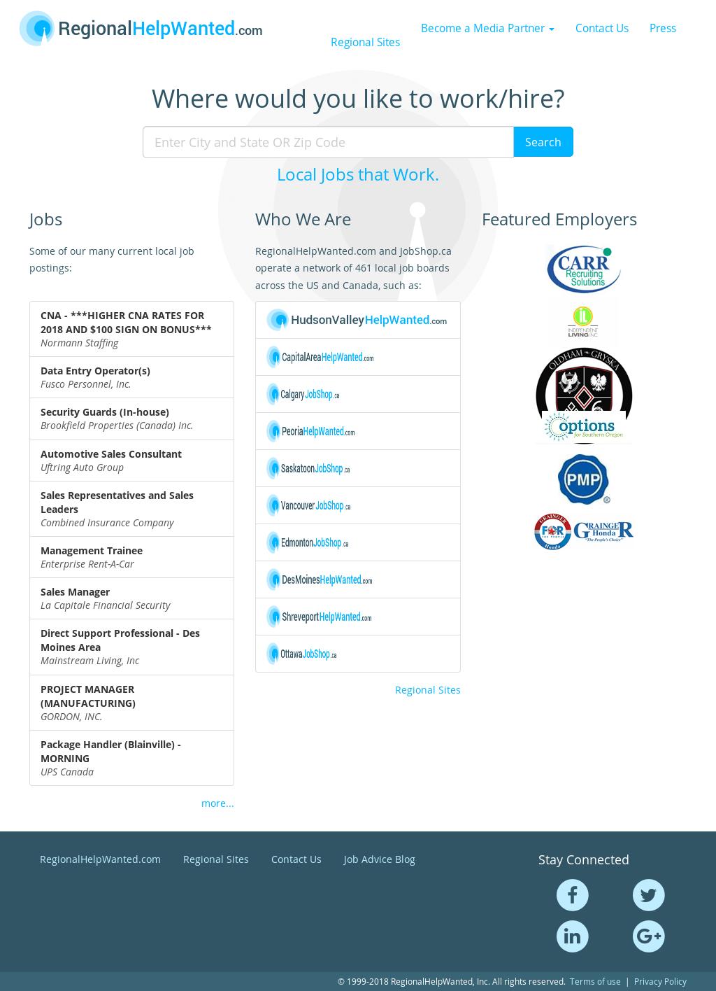 regionalhelpwanted competitors, revenue and employees - owler