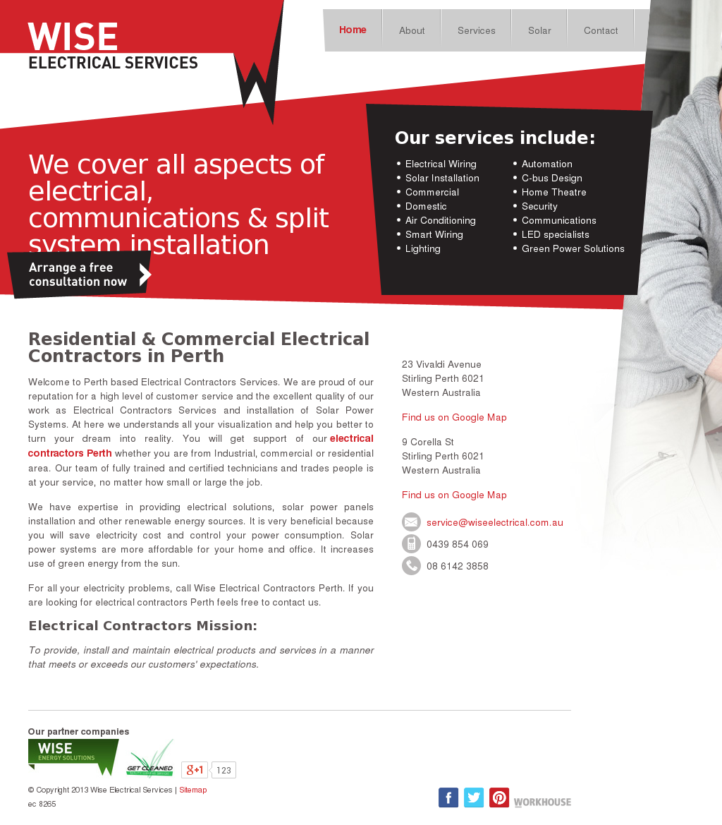 Wise Electrical Services Competitors Revenue And Employees Owler Smart Wiring Perth Company Profile
