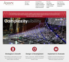 Apexx Group website history
