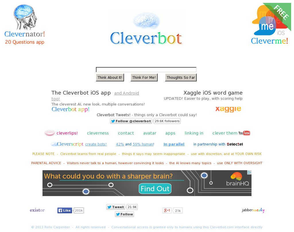 Cleverbot Competitors, Revenue and Employees - Owler Company