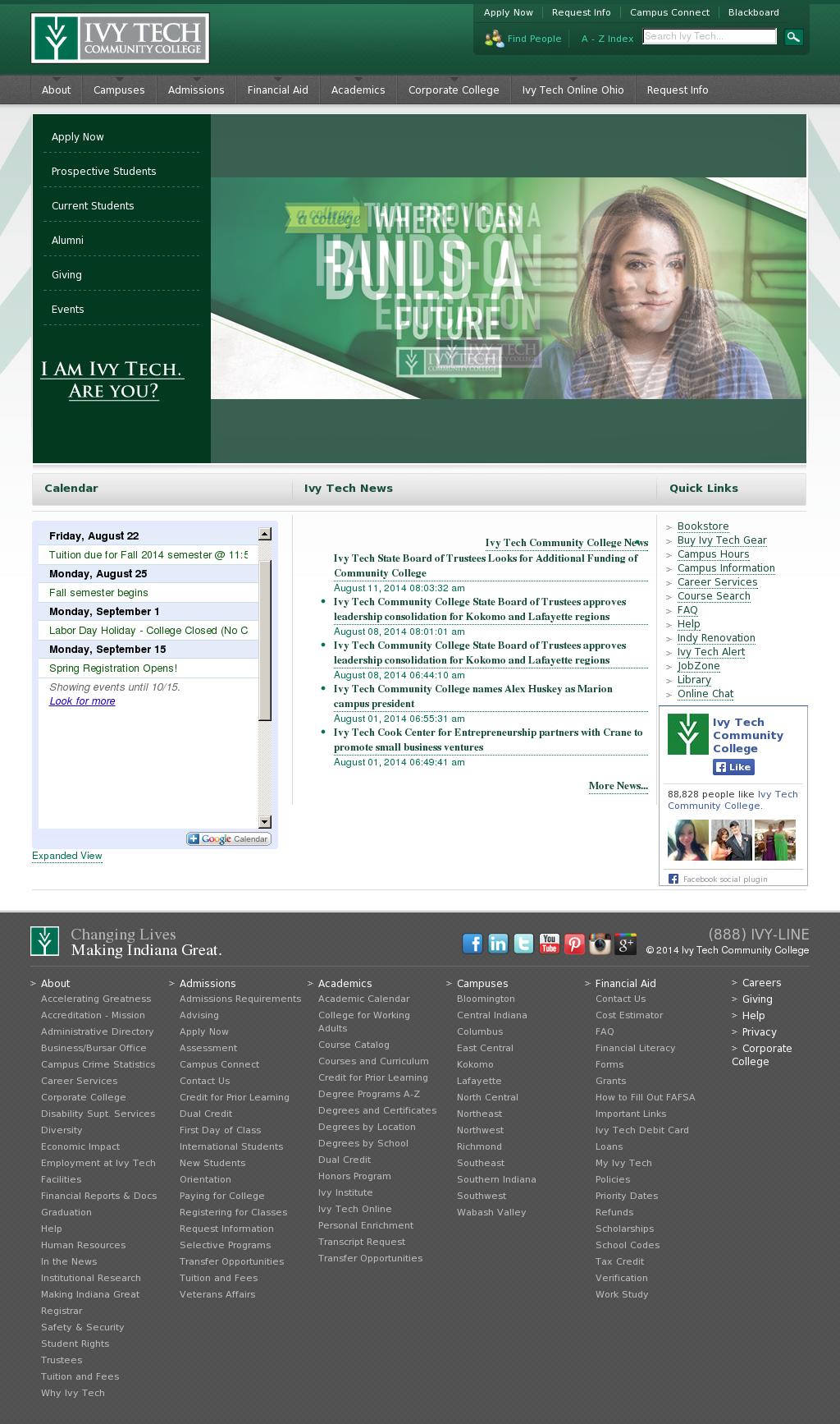Ivy Tech S Latest News Blogs Press Releases Videos