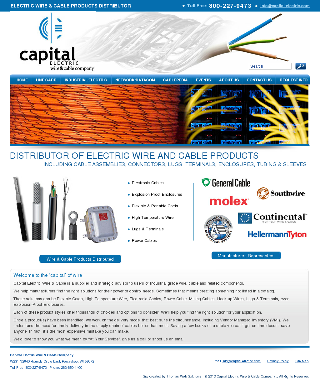 Capital Electric Wire & Cable Competitors, Revenue and Employees ...