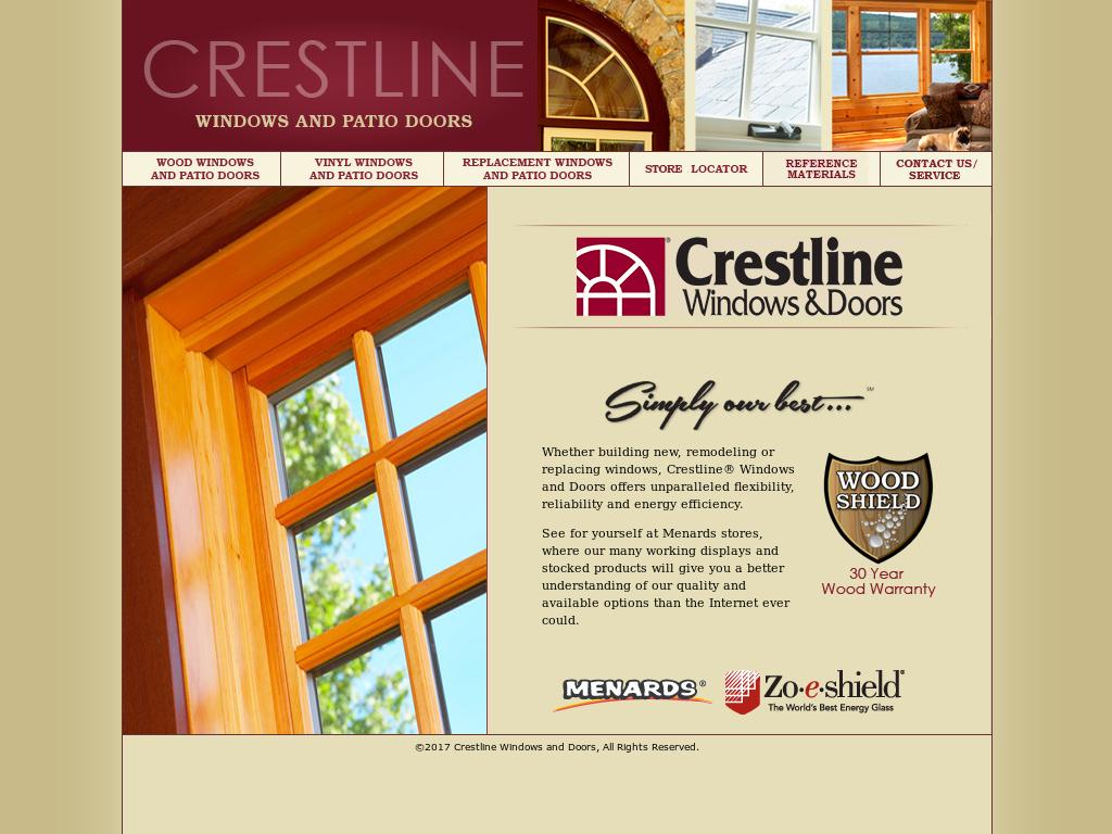 crestline windows menards 36wx40h website history crestline windows and doors competitors revenue and employees