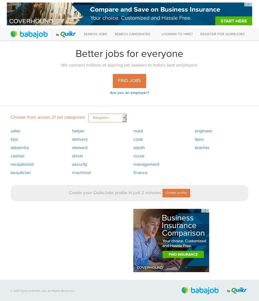 Babajob Competitors, Revenue and Employees - Owler Company Profile