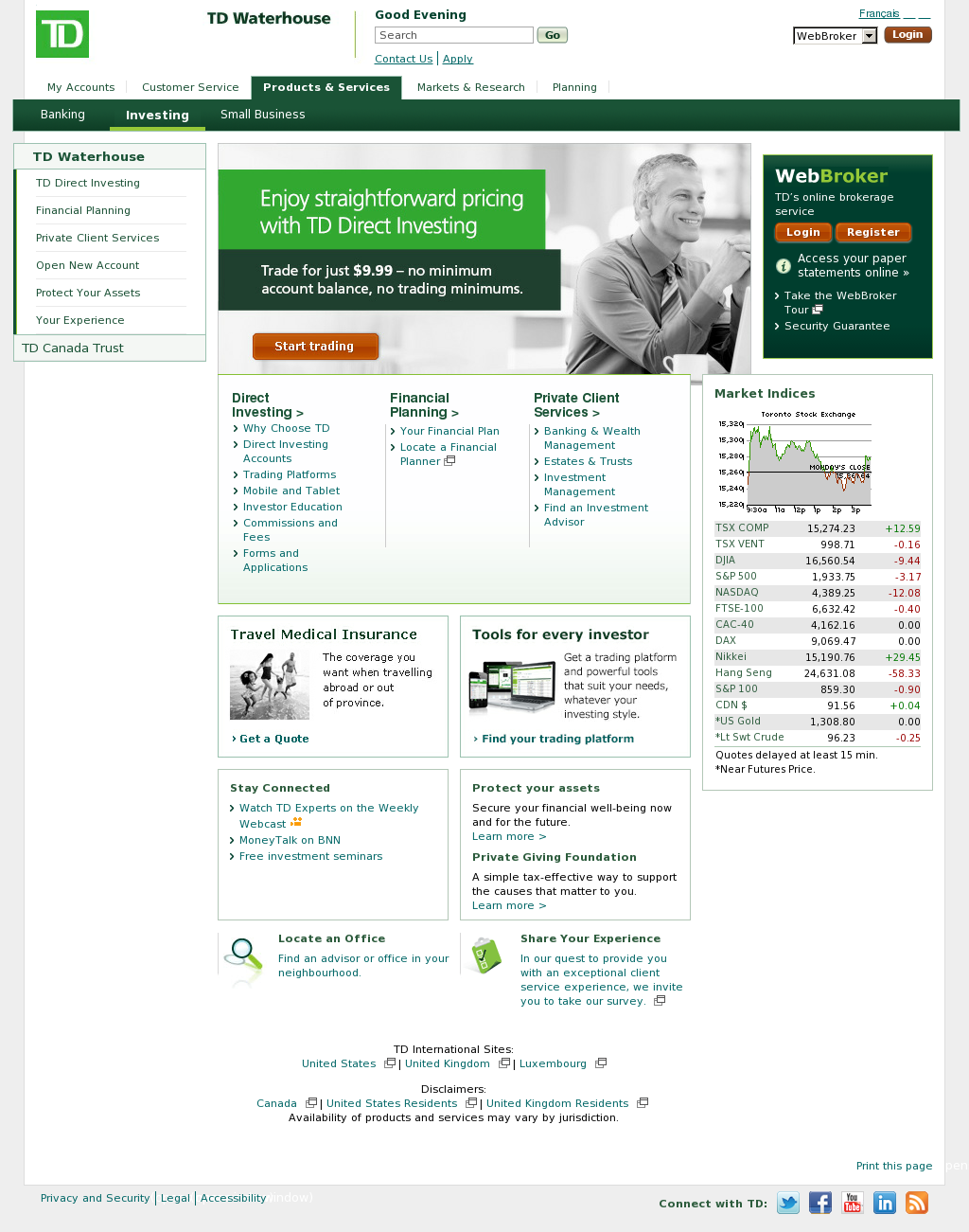 TD Waterhouse Competitors, Revenue and Employees - Owler
