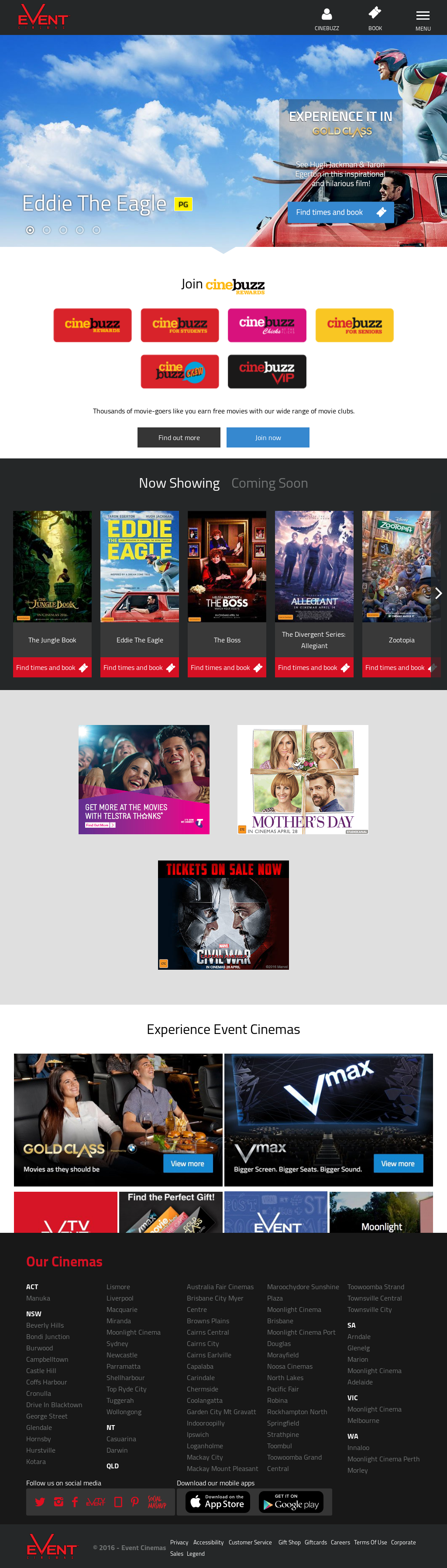 Event Cinemas Competitors, Revenue and Employees - Owler