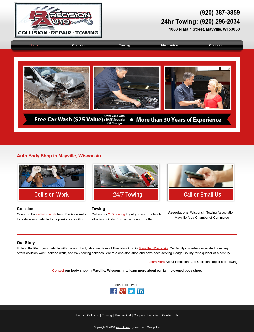 Precision Auto Body And Frame Competitors, Revenue and Employees ...