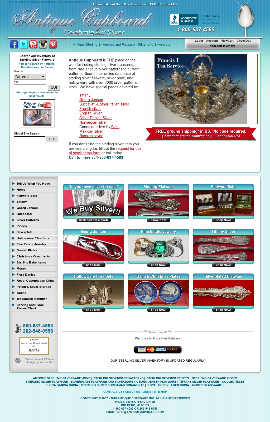 Antique Cupboard website history - Antique Cupboard Competitors, Revenue And Employees - Owler Company