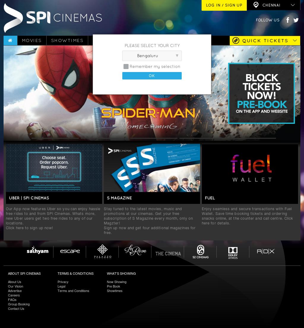 Owler Reports - SPI Cinemas: SPI Cinemas integrates Uber's