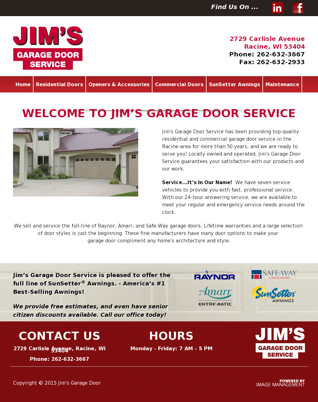 Jim S Garage Door Service Compeors Revenue And Employees Owler Company Profile
