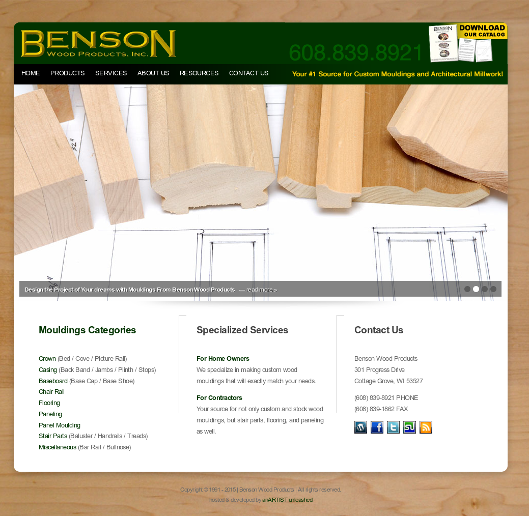 Benson Wood Products Competitors, Revenue and Employees