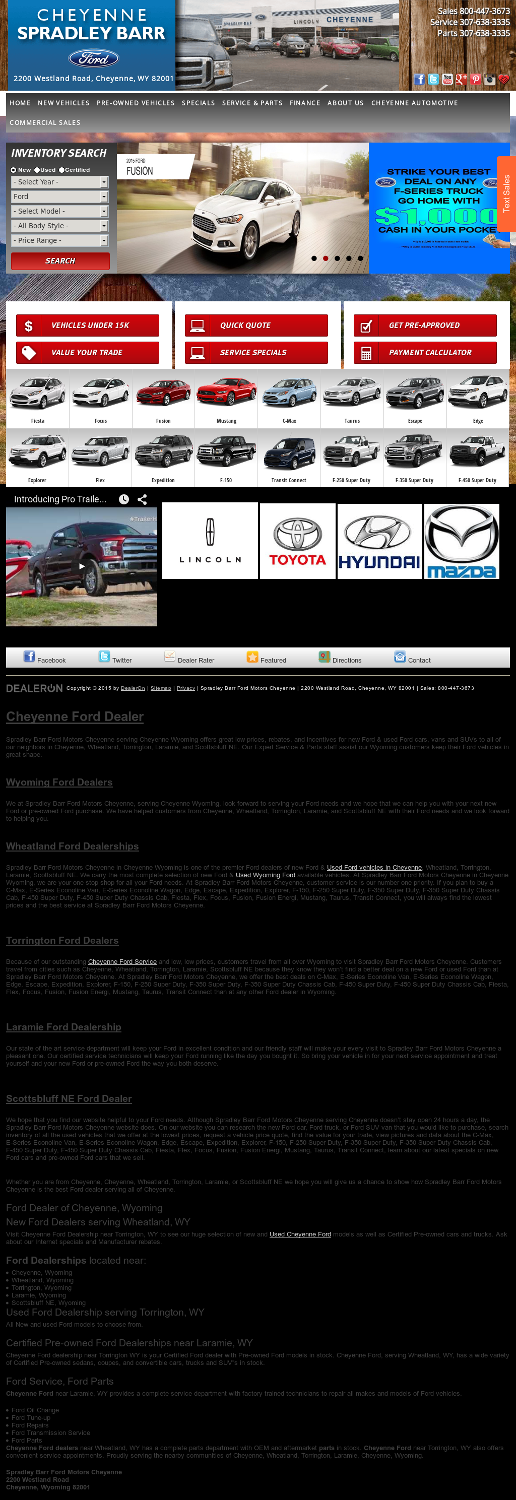 Car Dealerships In Cheyenne Wy >> Spradley Barr Motor Competitors Revenue And Employees