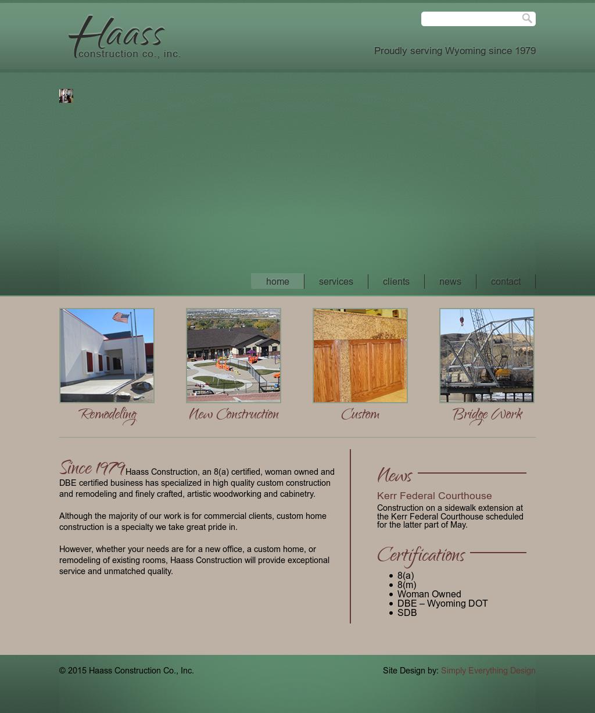 Haass Construction Company Profile | Owler