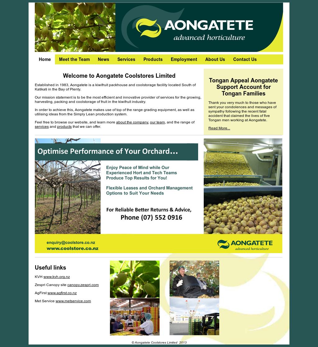 Aongatete Coolstores Competitors, Revenue and Employees