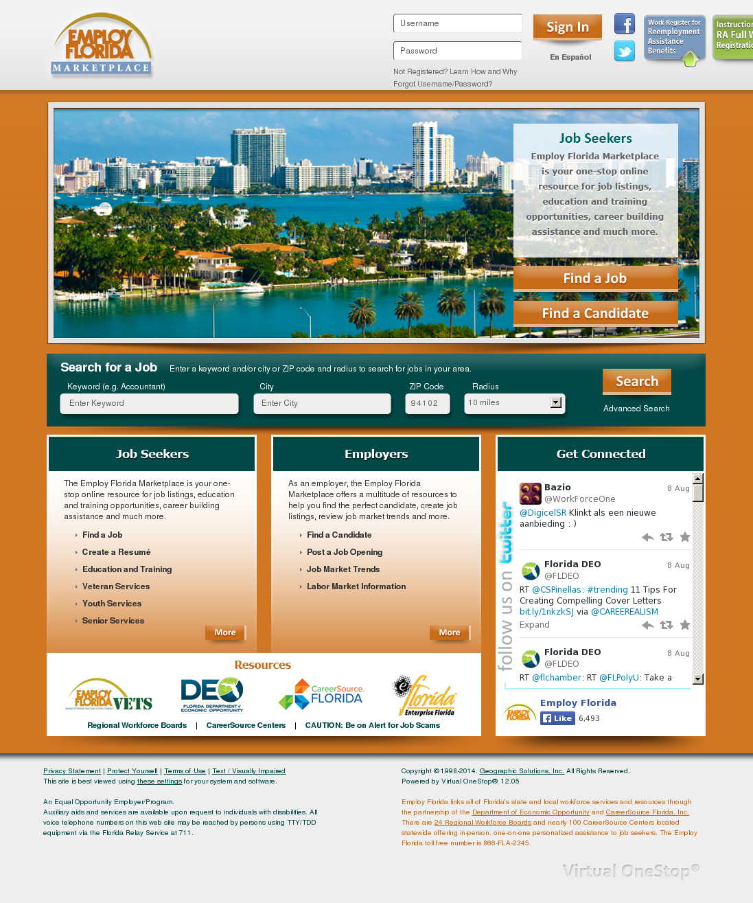Employ Florida Resume | Employ Florida Competitors Revenue And Employees Owler Company