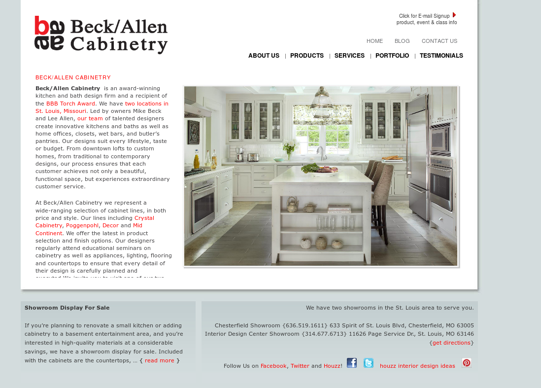 read the latest from our interior design blog interior design services offered Beck-allen Sales Competitors, Revenue and Employees - Owler Company Profile