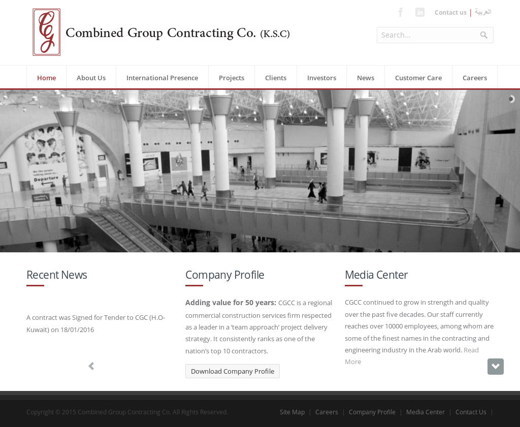 Owler Reports - The Combined Group: Combined Group Contracting wins