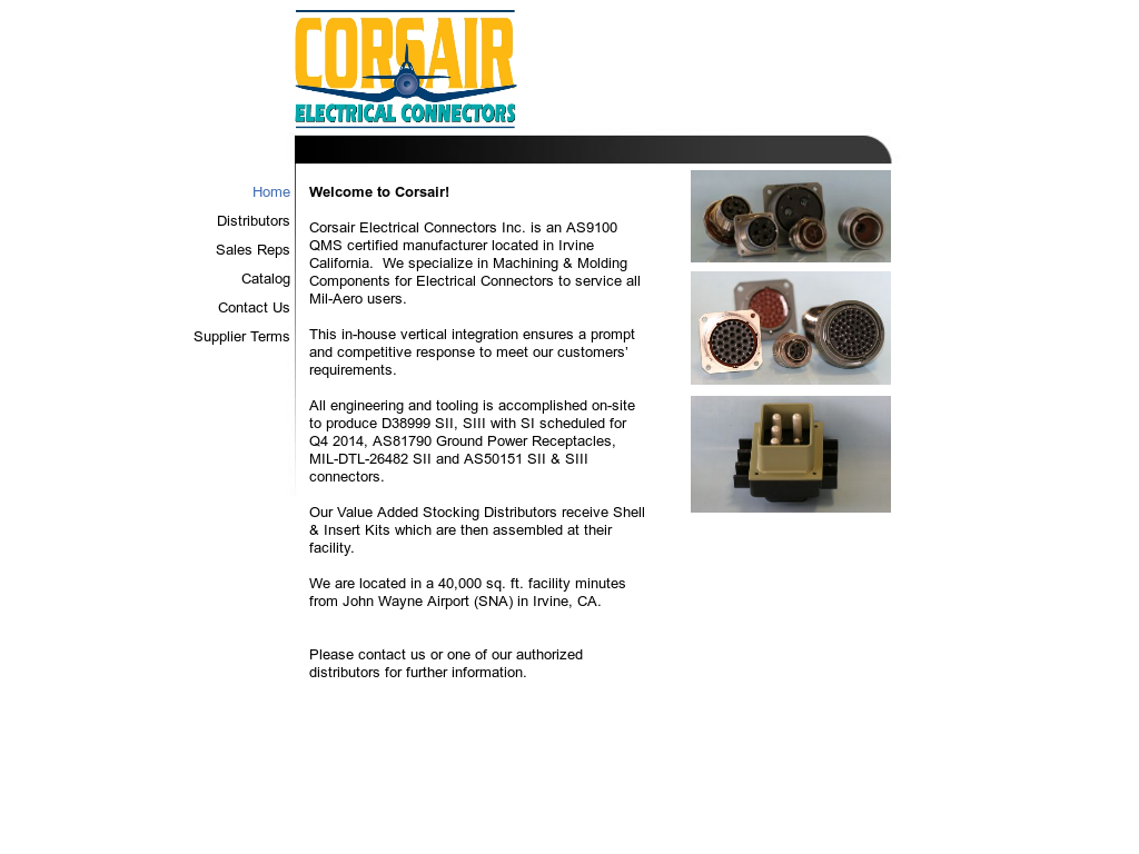 Corsair Electrical Connectors Competitors, Revenue and