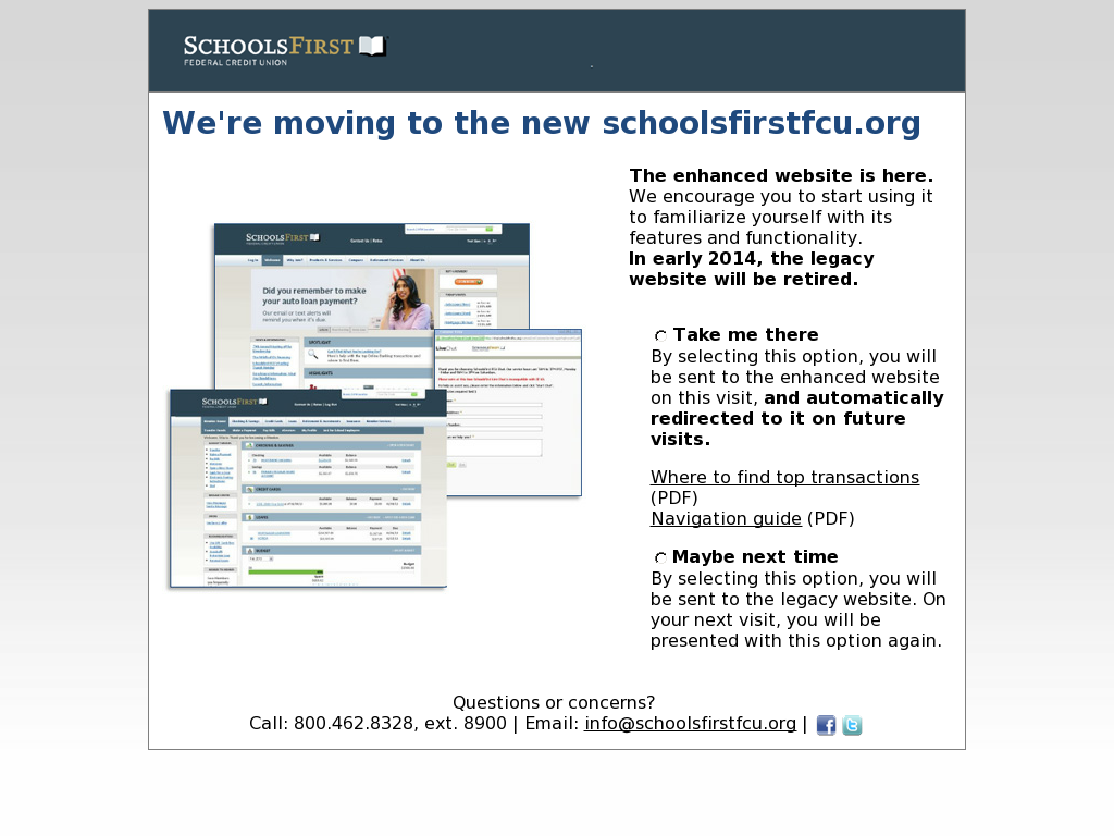 schoolsfirst federal credit union competitors, revenue and employees