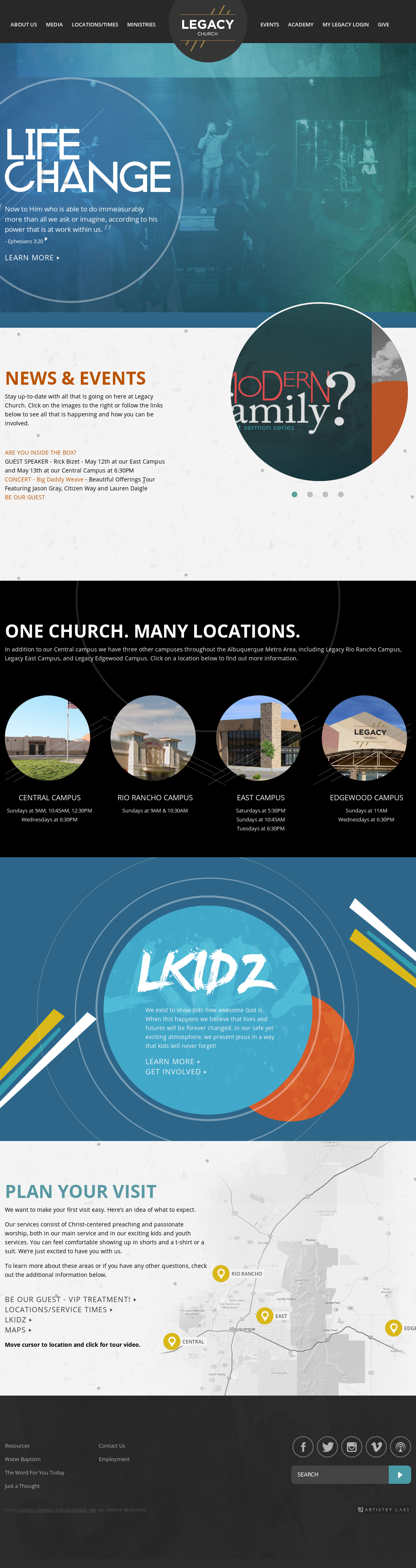Albuquerque Academy Campus Map.Legacychurchnm Competitors Revenue And Employees Owler Company