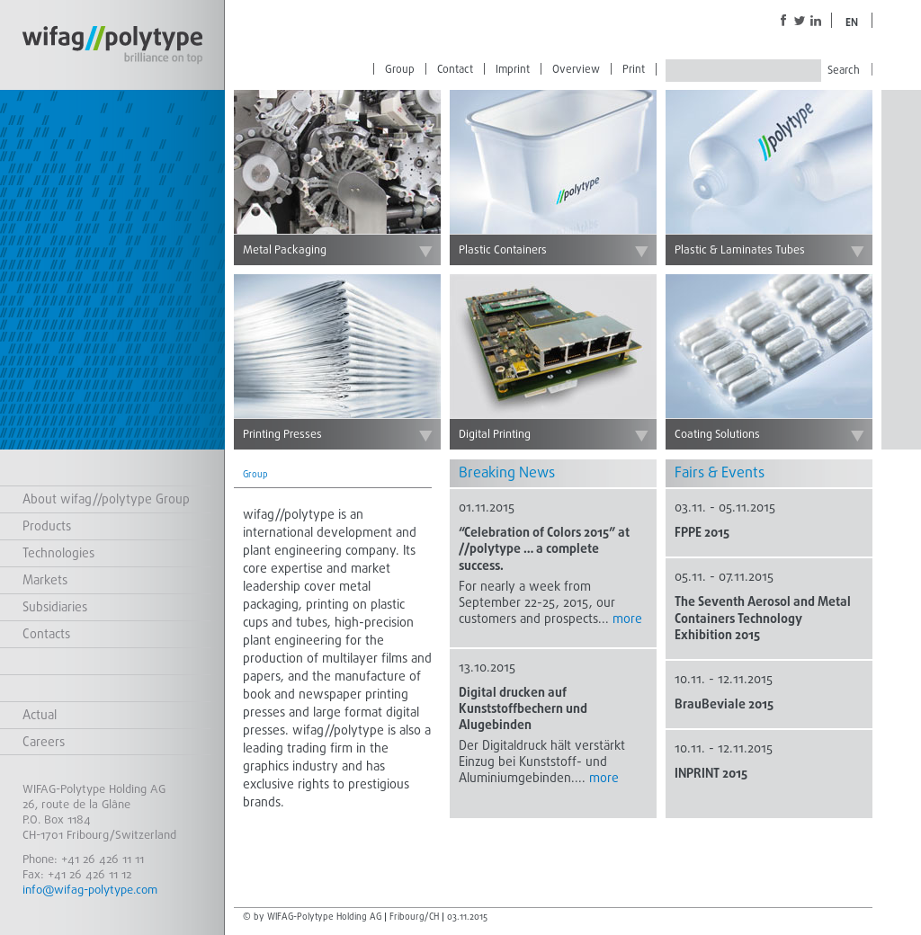 Wifag Polytype Competitors, Revenue and Employees - Owler