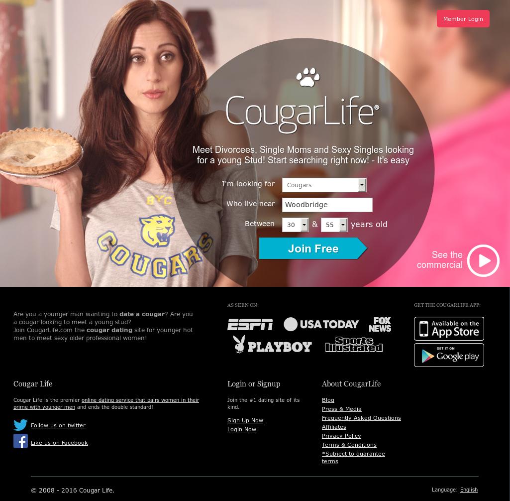 cougar life website