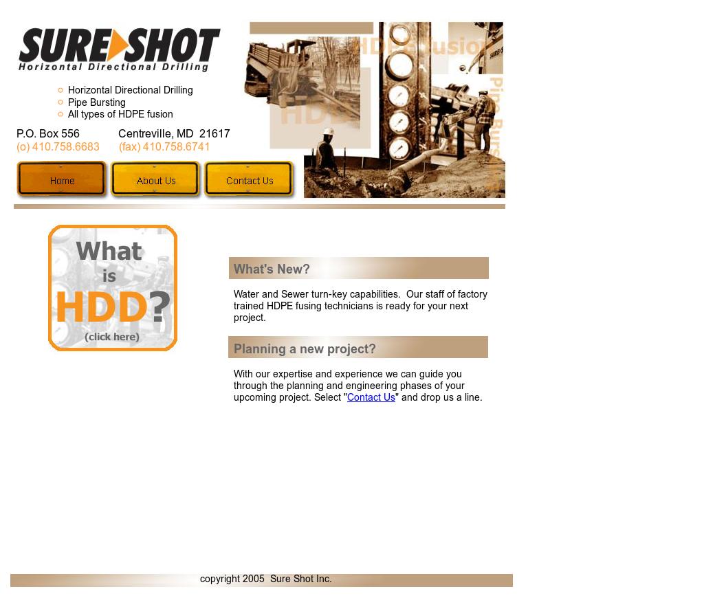 Sure Shot Horizontal Directional Drilling Competitors