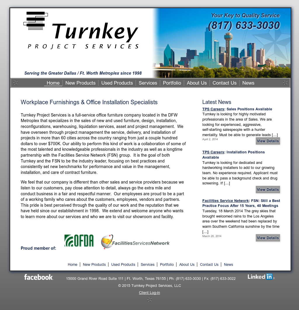 turnkey project services Welcome to profica professional project management - project and construction management including retail and design management delivering.