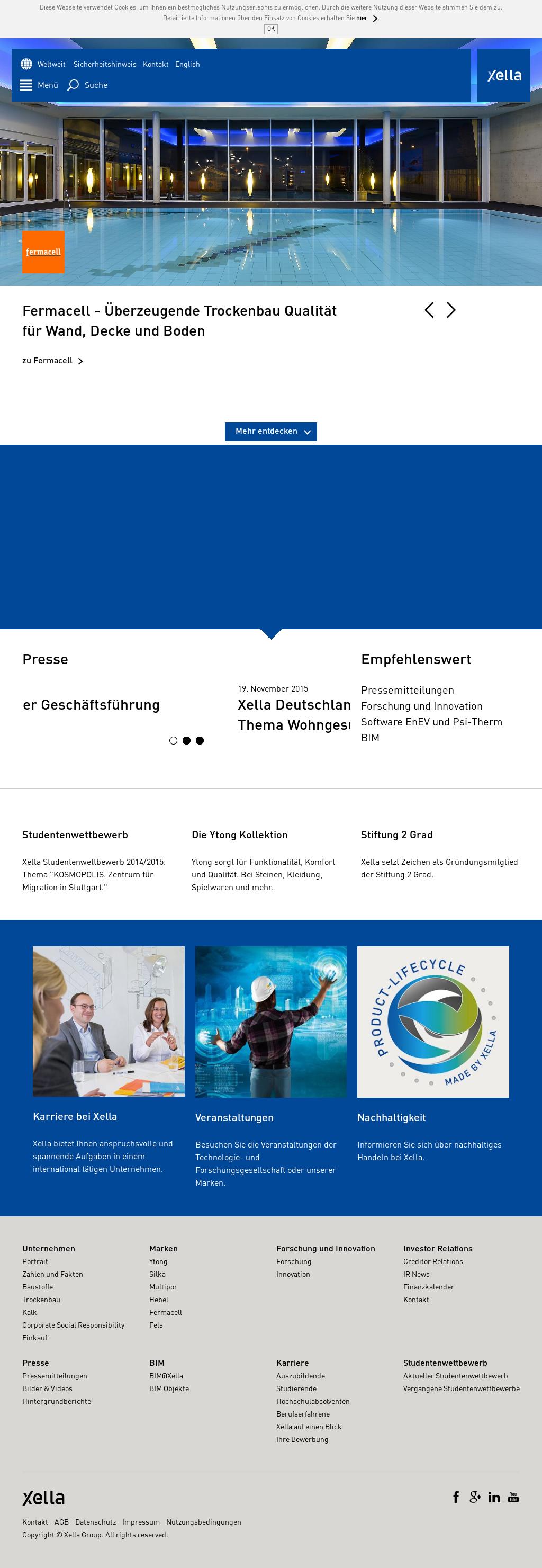 Xella Competitors, Revenue and Employees - Owler Company Profile
