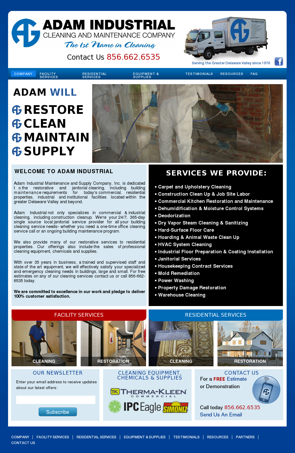 Adam Industrial Mntnc & Supl Competitors, Revenue and Employees ...