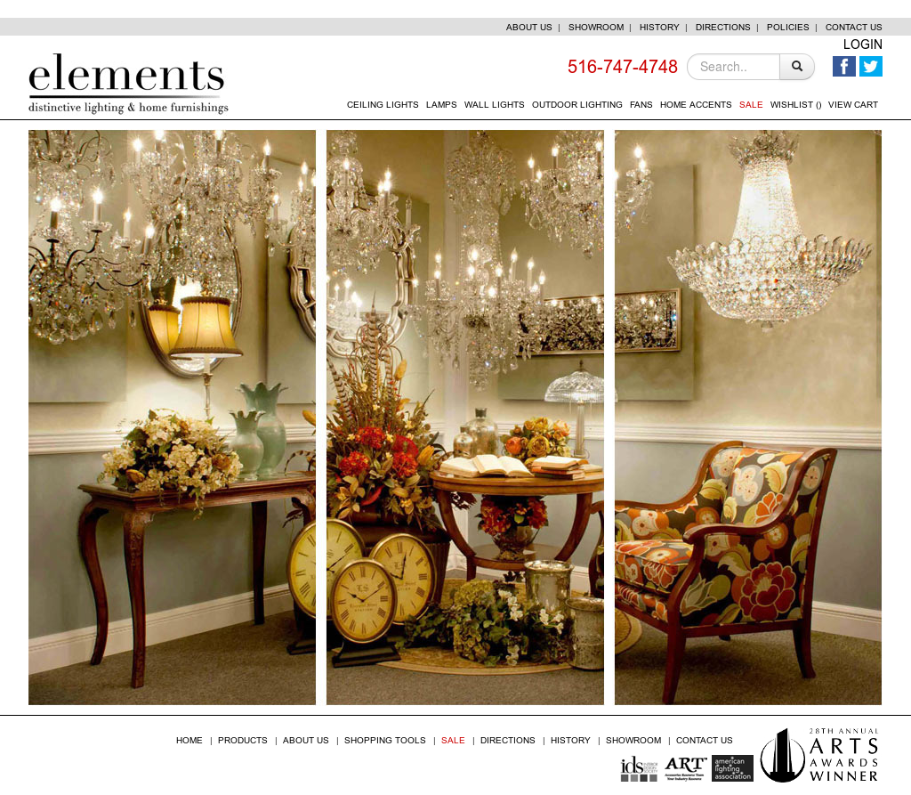 Elements Distinctive Lighting Home Furnishings Compeors