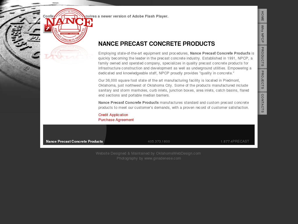 Nance Precast Concrete Prods Competitors, Revenue and Employees