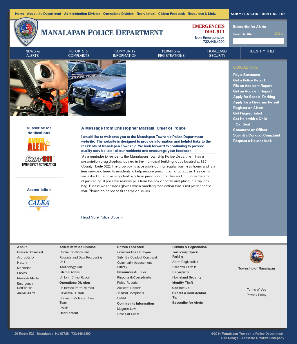 Manalapan Township Police Dept Competitors, Revenue and Employees