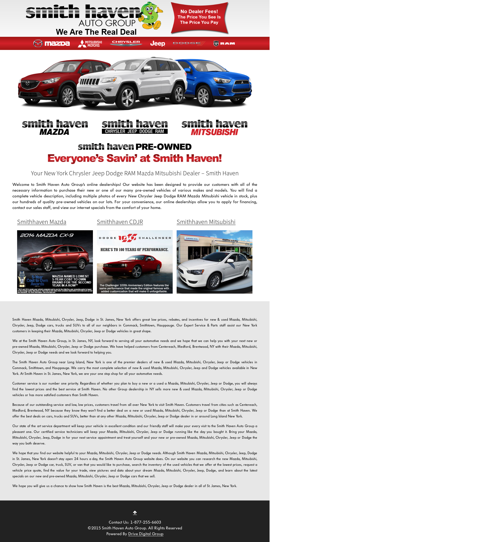 Smith Haven Jeep >> Smithhaven Dodge Jeep Chrysler Competitors Revenue And
