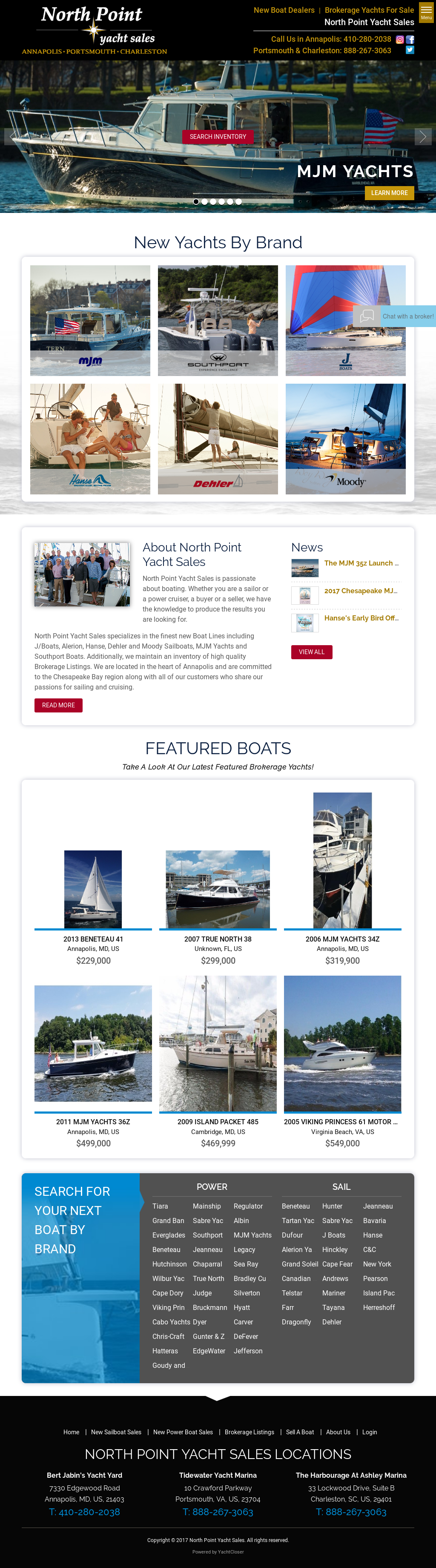 North Point Yacht Sales Competitors, Revenue and Employees