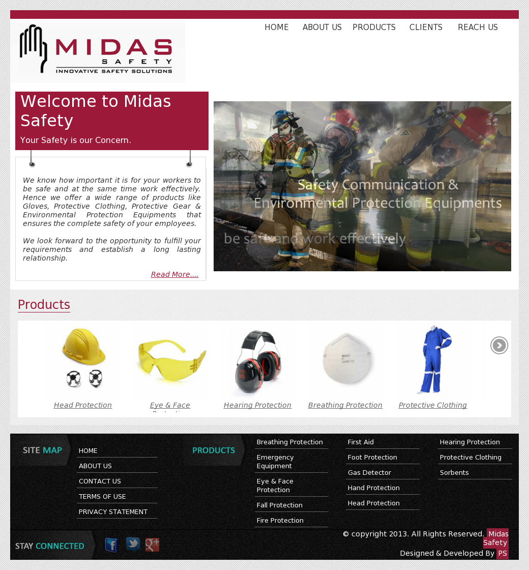 Midas Safety Products Trading Competitors, Revenue and