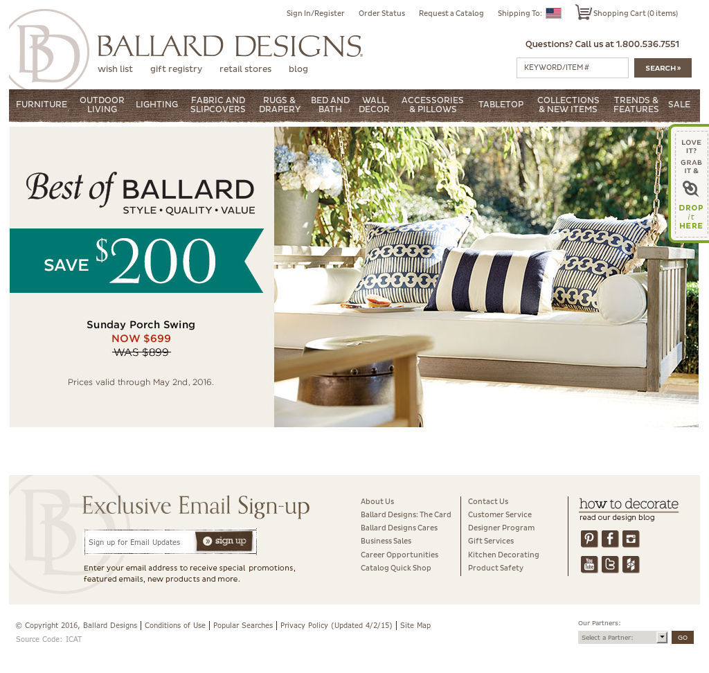 ballard designs competitors, revenue and employees - owler company