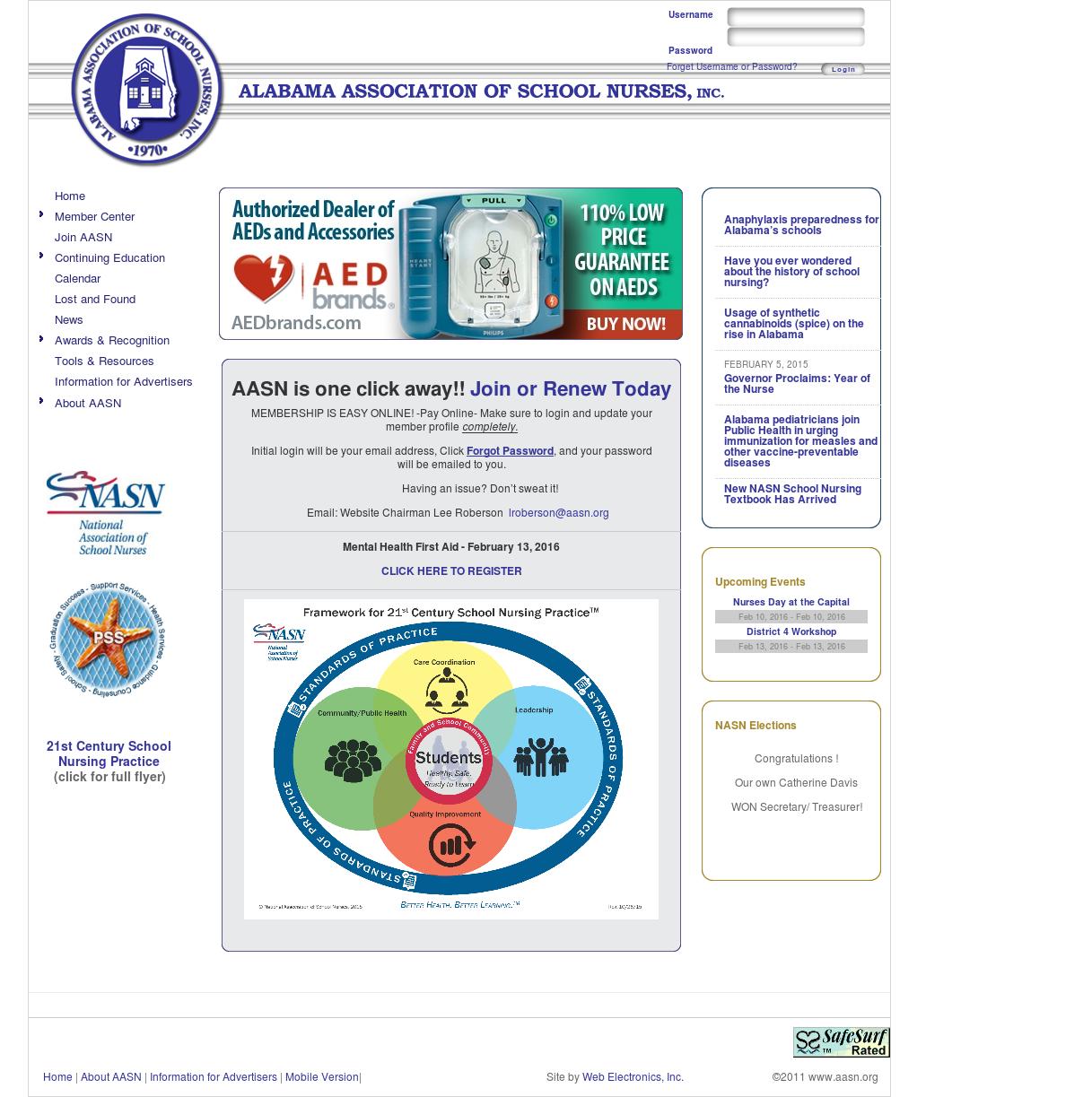Alabama Association Of School Nurses Competitors, Revenue